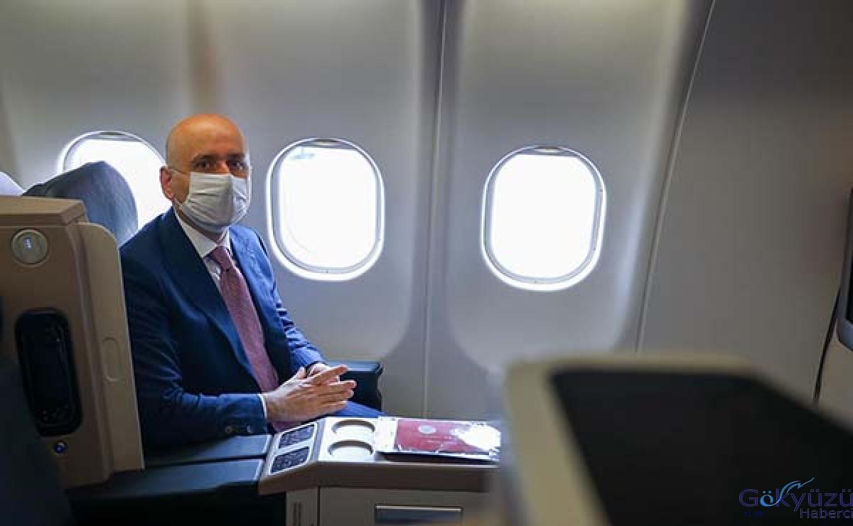 # Uçak yolculuğunda tüm tedbirler alındı