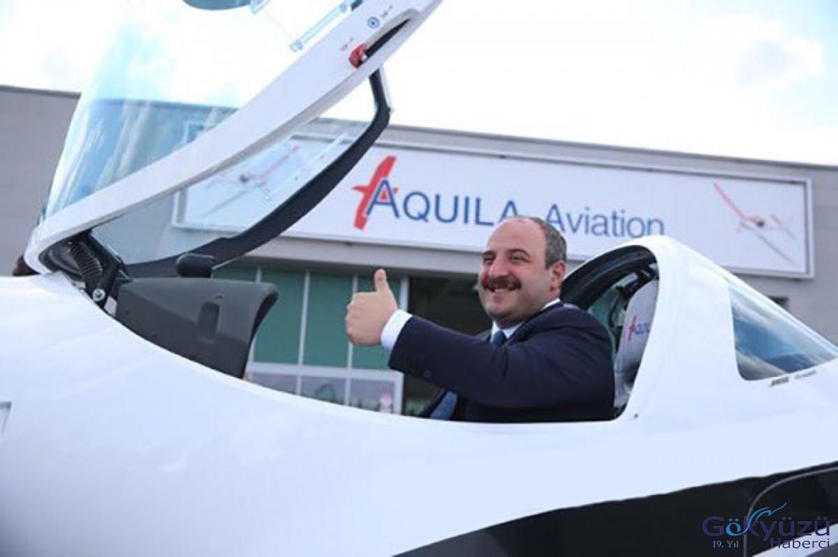 Bakan Varank, deneme uçuşu yaptı!