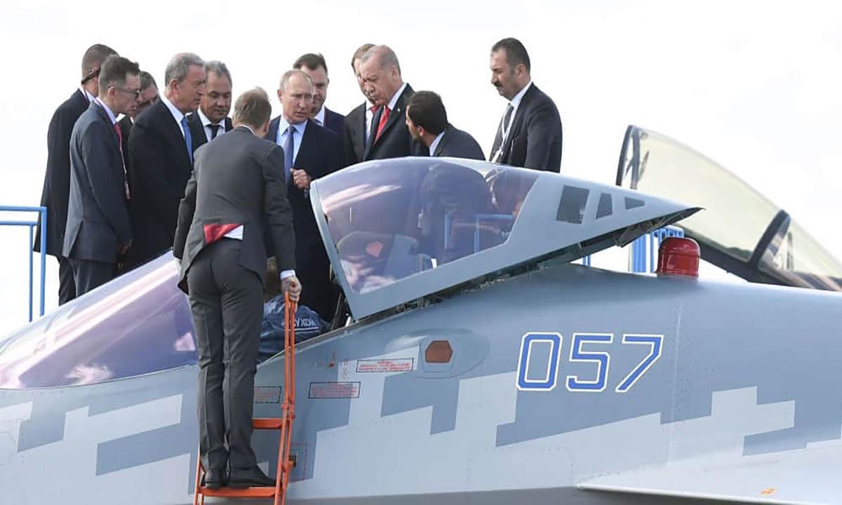 Bakan VARANK'tan Su-35 ve Su-57 açıklaması