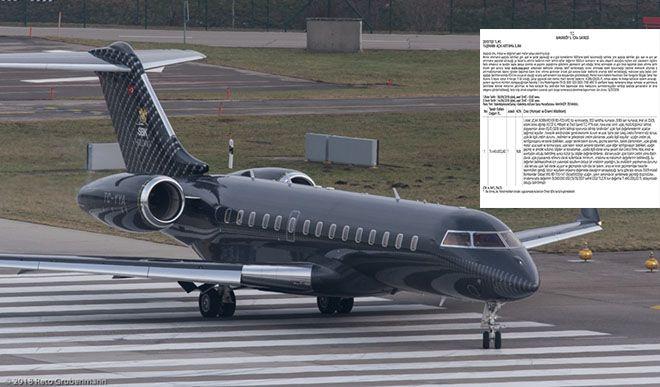 Bakırköy 5.İcradan 19 milyon dolara satılık jet!