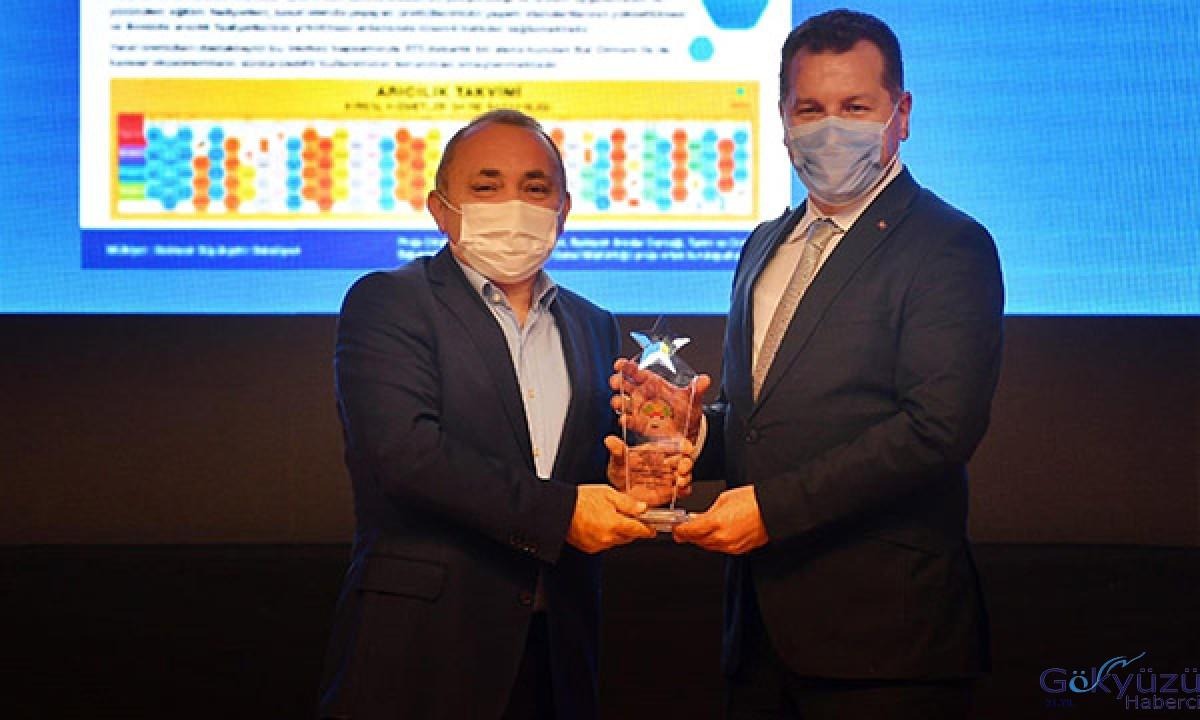 Balıkesir Büyükşehir Belediyesi'ne ödül