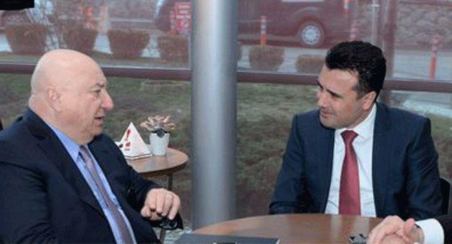 Başbakan Zaev TAV CEO'su Sani Şener ile Görüştü