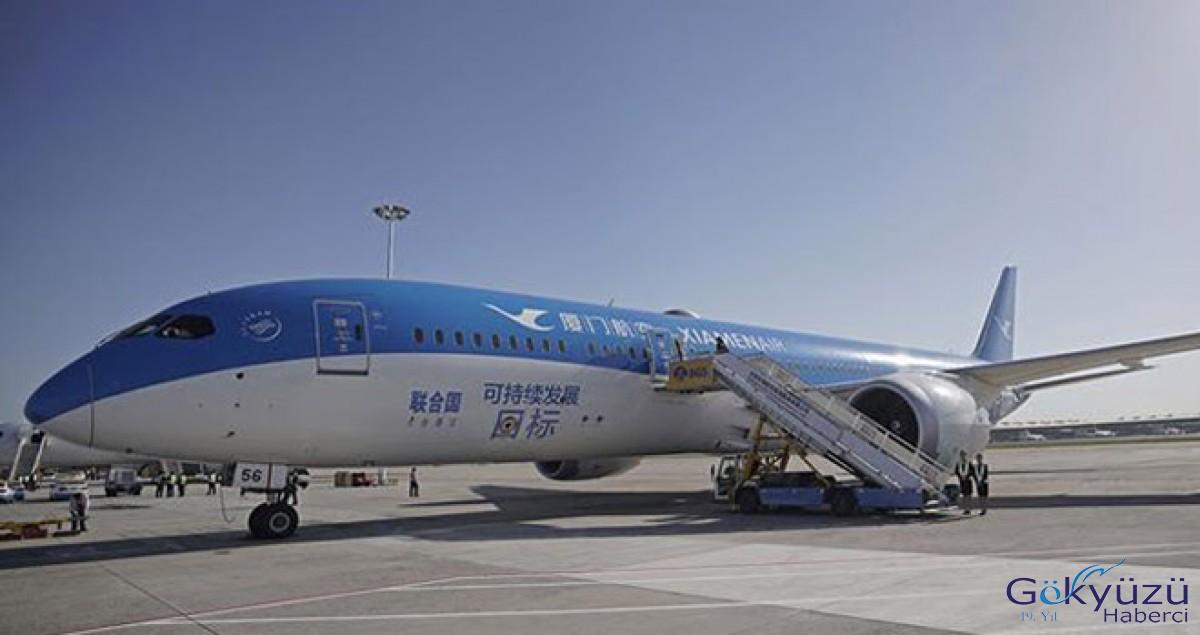 Beijing'in yeni havaalanında ilk deneme uçuşları yapıldı