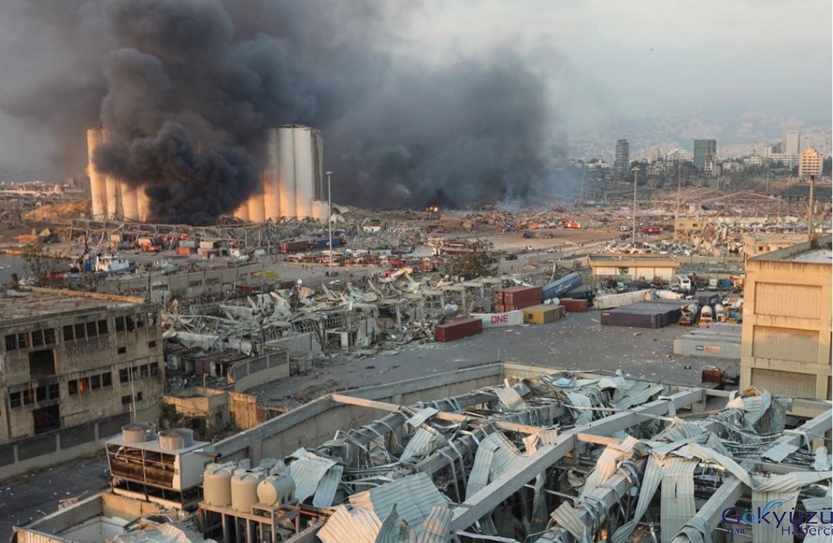 #Beyrut'taki patlamada bir THY çalışanı yaralandı