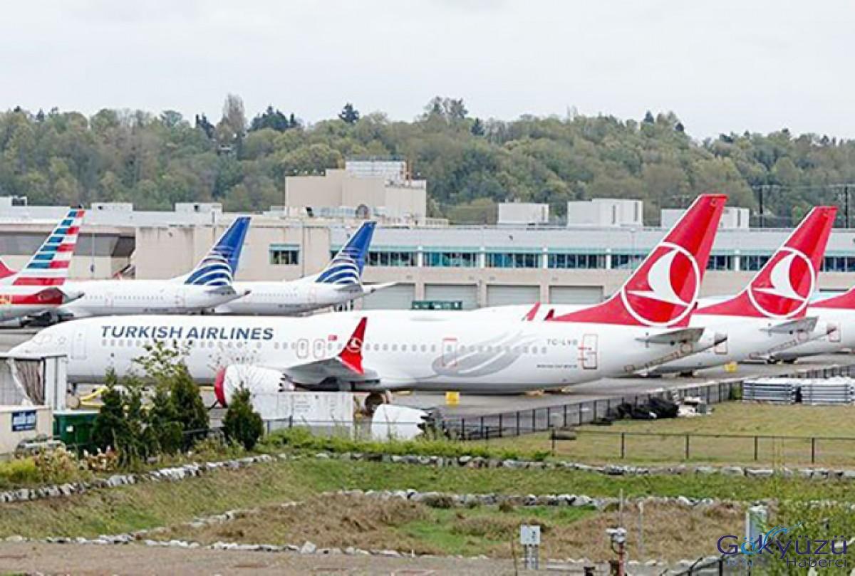 Boeing 737 MAX'ler havalimanı mezarlığında!