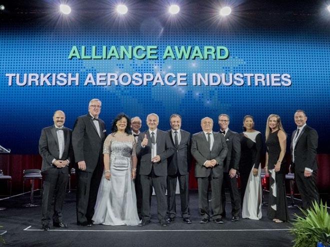 Boeing'den Taı'ye Ödül