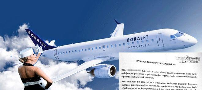Bora Jet satışına FETÖ soruşturması