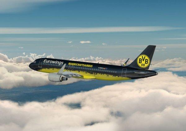 Borussia Dortmund'un Resmi Havayolu Eurowings