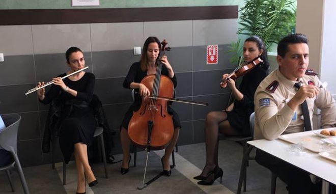 BTA'dan yolcu ve çalışanlara müzik dinletisi!