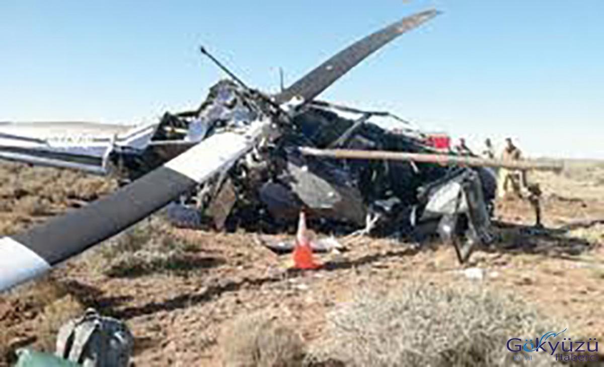 Cezayir'de Havalimanına Askeri Helikopter Düştü