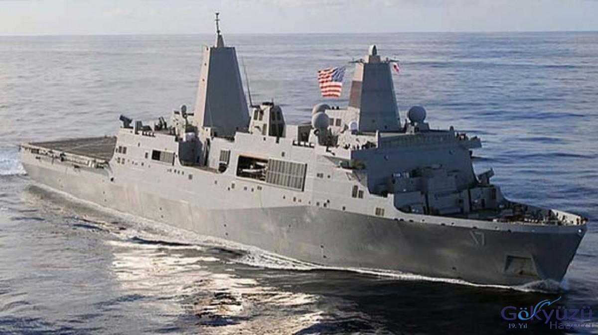 Çin'den ABD'ye savaş gemisi tepkisi