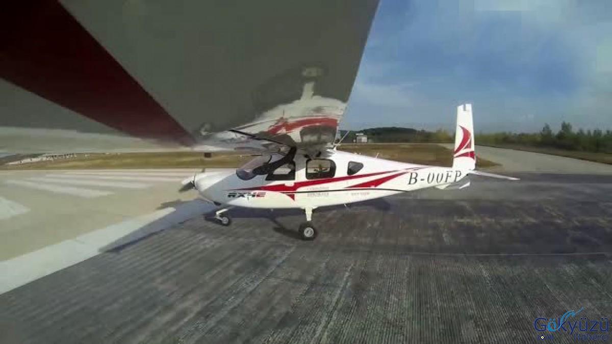 Çin'in Elektrikli Uçağından İlk Uçuş