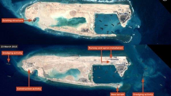 Çin'in Gizli Uçak Pisti Ortaya Çıktı