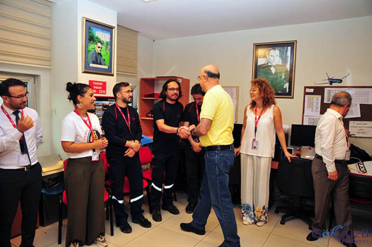 Corendon Airlines Kabin İçi Teknisyeni Emekli Oldu