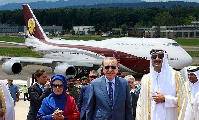 Erdoğan: Uçak Türkiye Cumhuriyeti Devleti'nindir