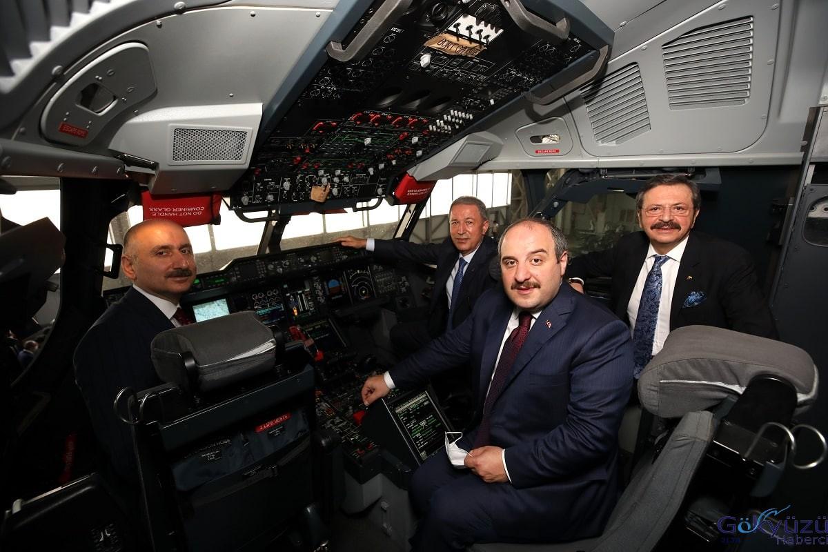 #Dev kargo uçağı