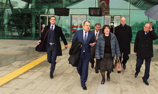 DHMİ Genel Müdürü Funda Ocak Hatay Havalimanı'nda