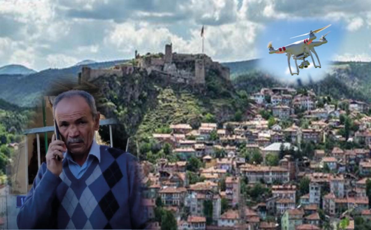 Drone'la dolandırdılar, 24 bin lirasından oldu