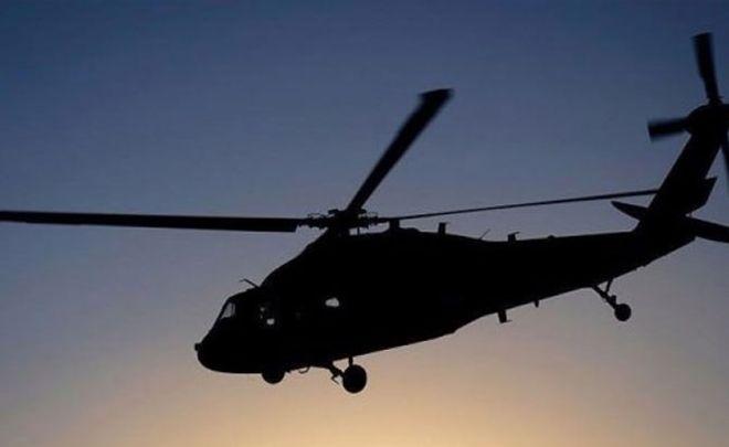 Eğitim uçuşu yapan helikopter düştü!
