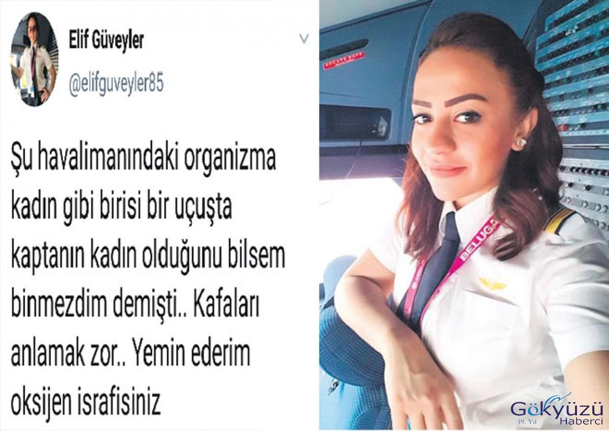 Elif Kaptan'dan o yolcuya: Oksijen israfısınız!