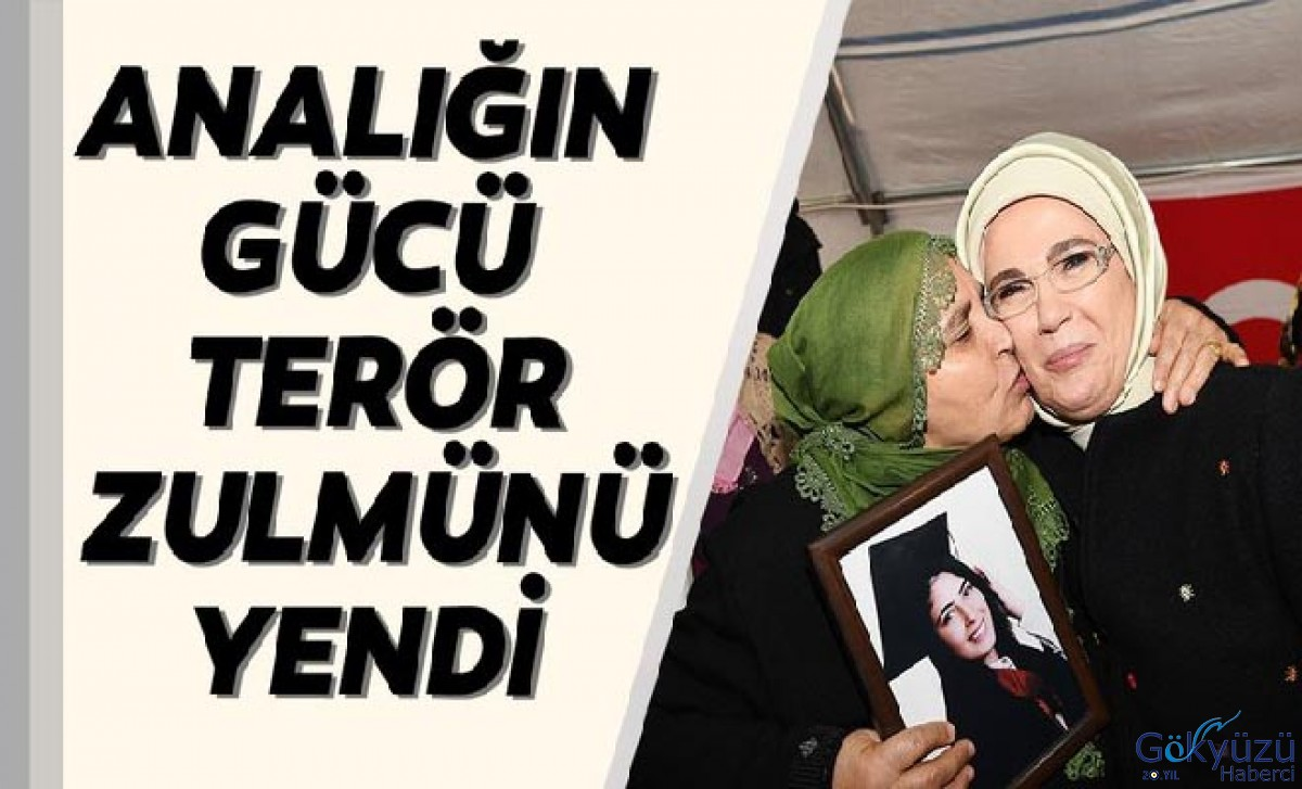 Emine Erdogan: Maternity Terror Force yen Persecution