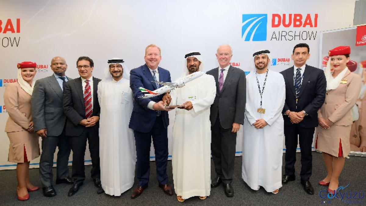 Emirates, Dubai Airshow'da, 50 adet A350 XWB sipariş verdi