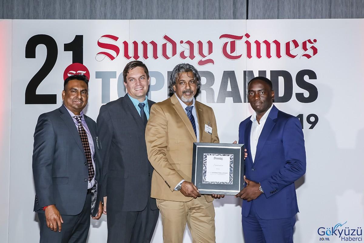 Emirates 'En İyi Uluslararası Havayolu Ödülü'nü kazandı