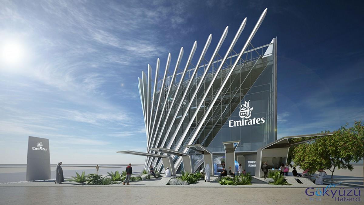 Emirates, Expo 2020 Dubai'deki fuar alanını tanıttı