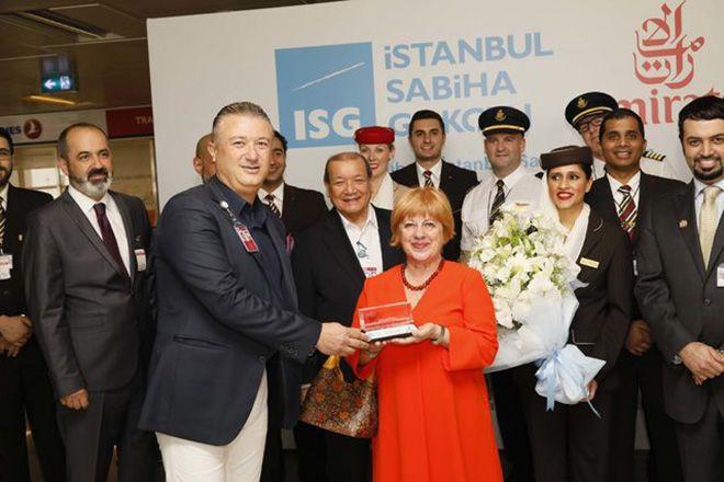 Emirates Havayolları'nın Sabiha Gökçen seferleri başladı