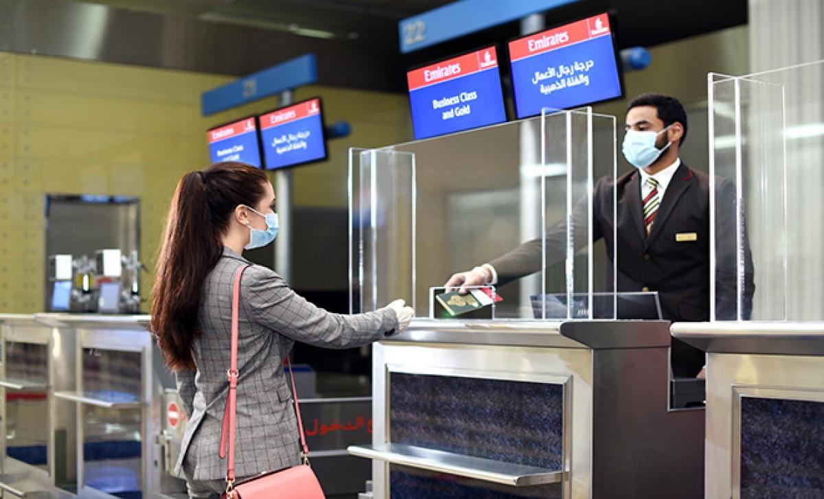 #Emirates PCR testleri check-in sırasında istemektedir