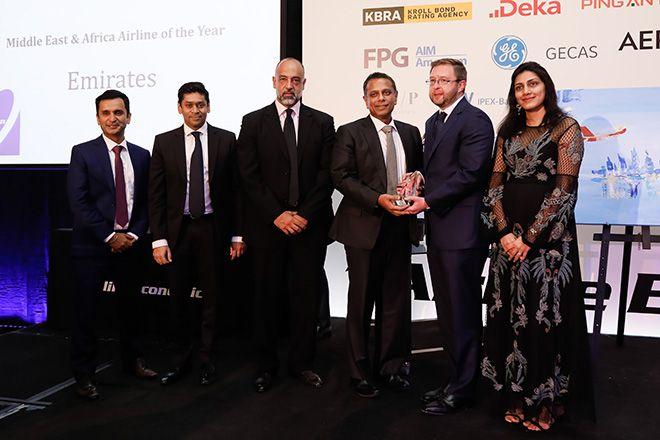 Emirates, 'Yılın Ortadoğu & Afrika Havayolu' seçildi