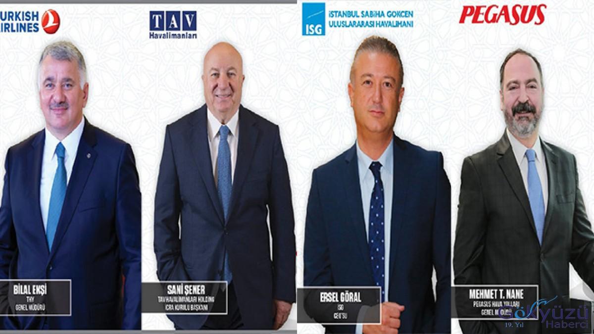 En güçlü 50 CEO arasına havacılıktan 4 isim!