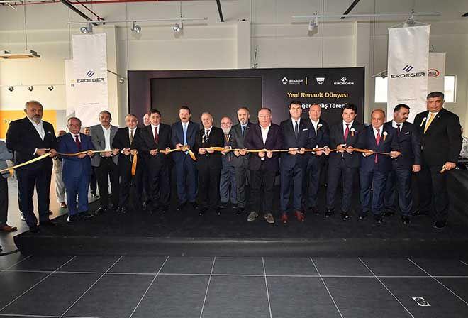 Erdeğer Renault Plaza, Bursa'da açıldı