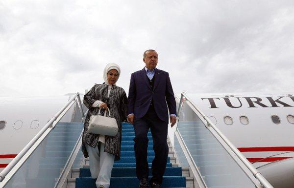 Erdoğan, Özel uçak