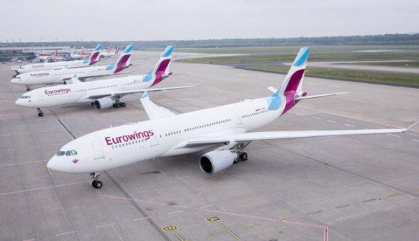Eurowings filosu büyüyor!