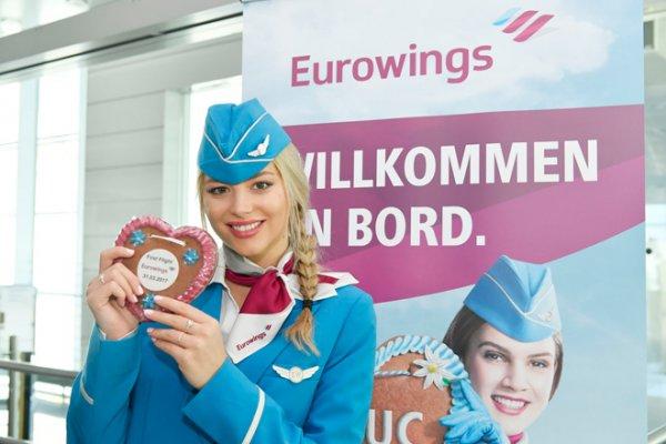 Eurowings'in Münih kalkışlı uçuşları başladı