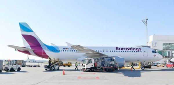 Eurowings'ten Yeni Rota: Viyana-Dortmund