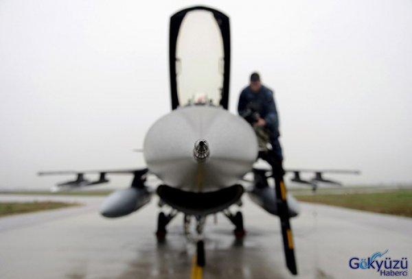 F-16'larının Modernizasyonunu Tamamladı