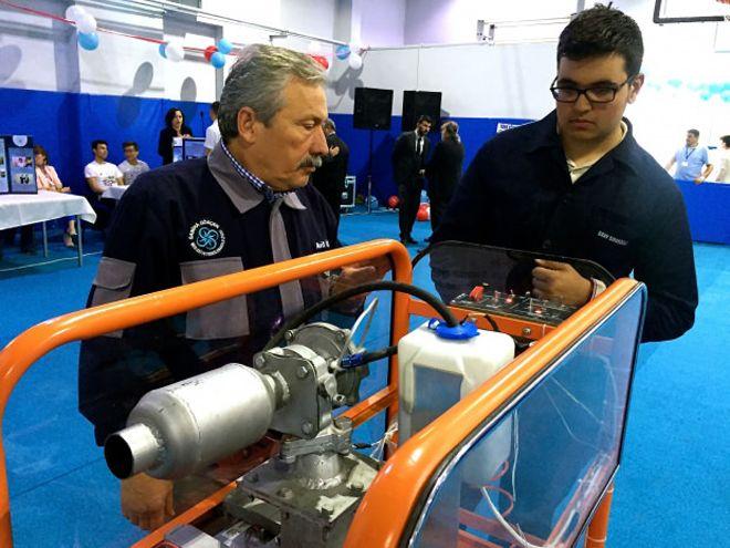 Altı farklı yakıtla çalışan turbojet motor yaptı