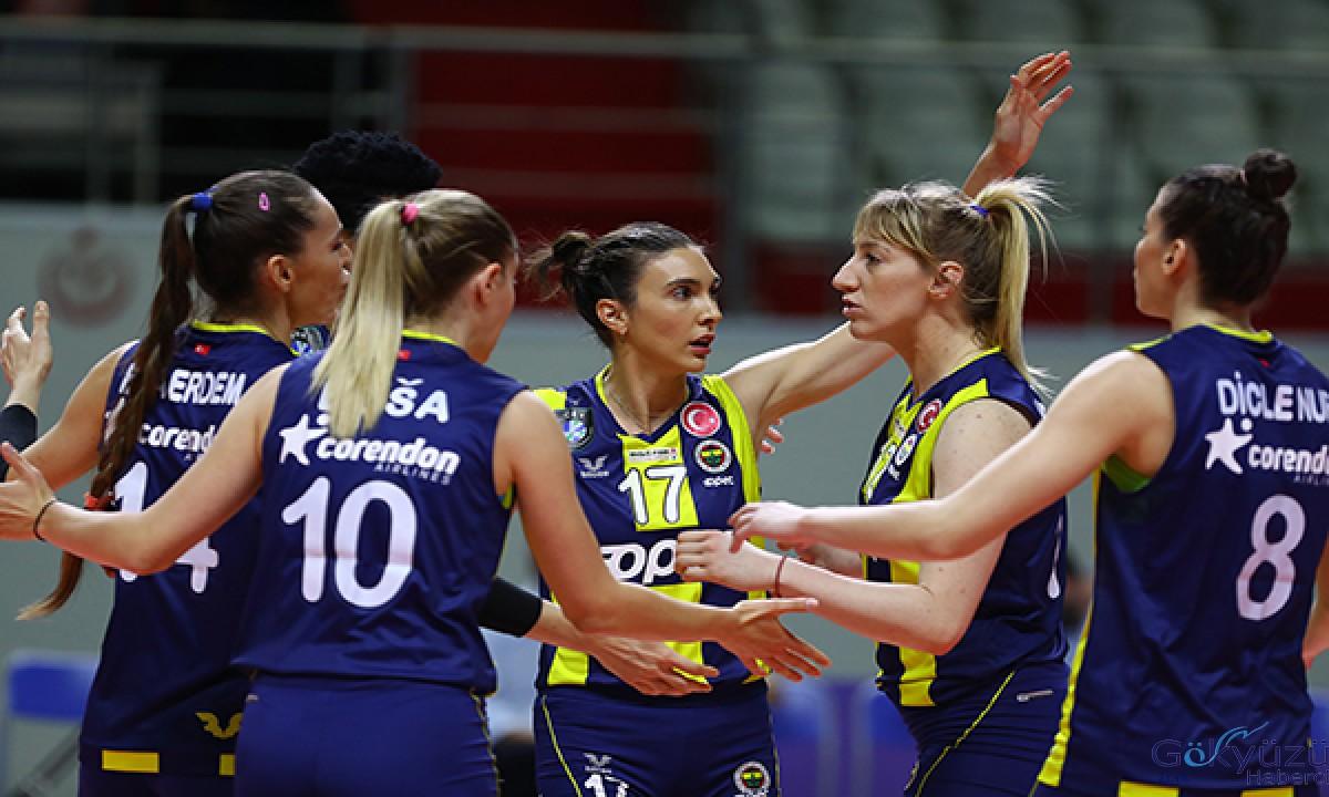 File derbisinde kazanan Fenerbahçe Opet