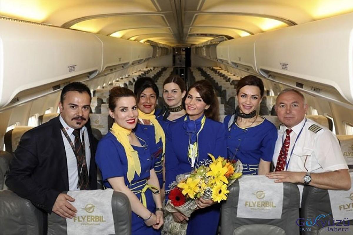 Fly Erbil'in Erbil-Ankara uçuşları başladı!