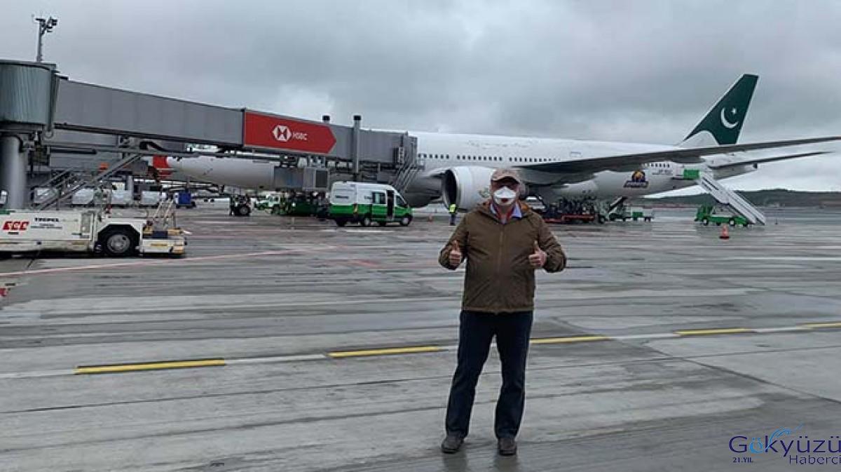 Pakistan Havayolları'nın uçağı İstanbul Havalimanı'nda