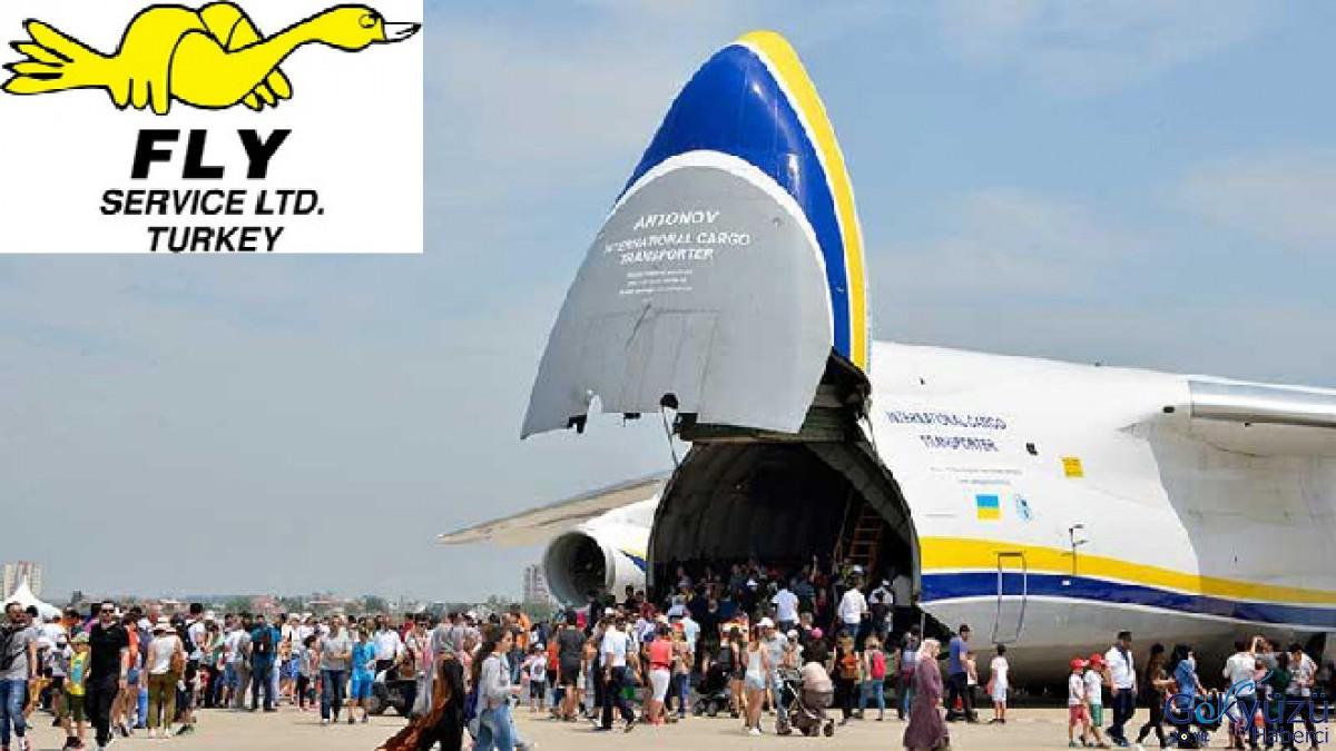 Fly Service, EurAsia Airshow'un Gümüş Sponsoru oldu