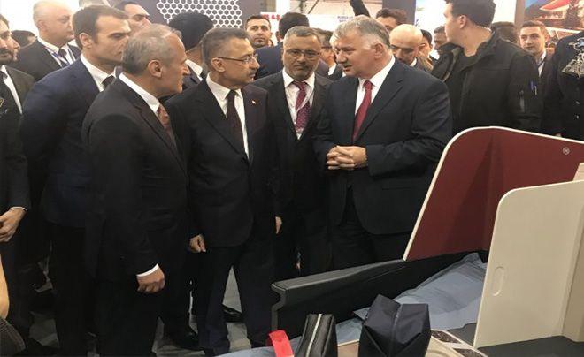 Fuat Oktay: İstanbul Airshow  Fuarı'nın açılışına katıldı!