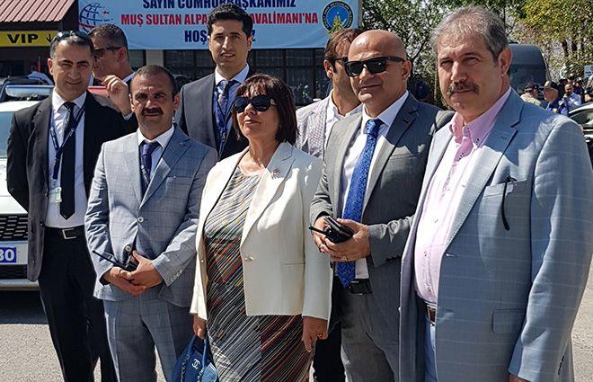 Funda Ocak Muş Sultan Alparslan Havalimanı'nda!