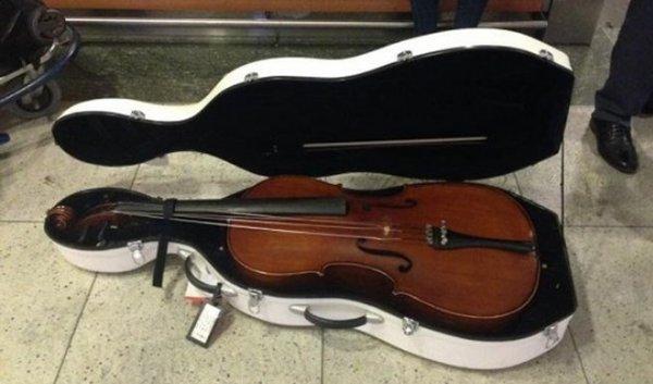 Genç müzisyenin Çello isyanı
