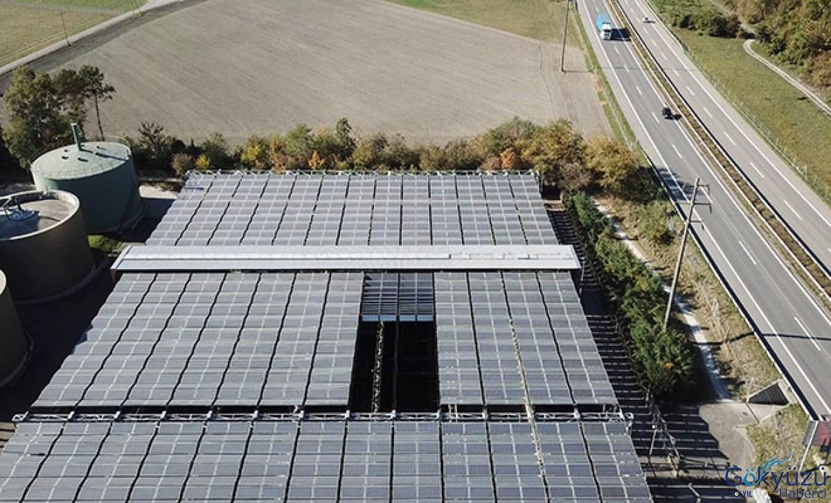 Güneş paneli çatısına NORD DRIVESYSTEMS hareket veriyor.