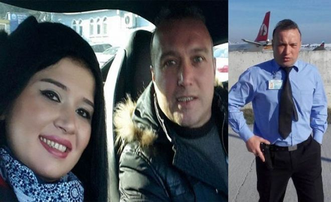 Güvenlikçi Eşini öldürüp, intihar etti!