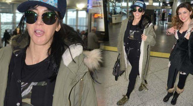 Hande Yener uçakta tazize uğradı!