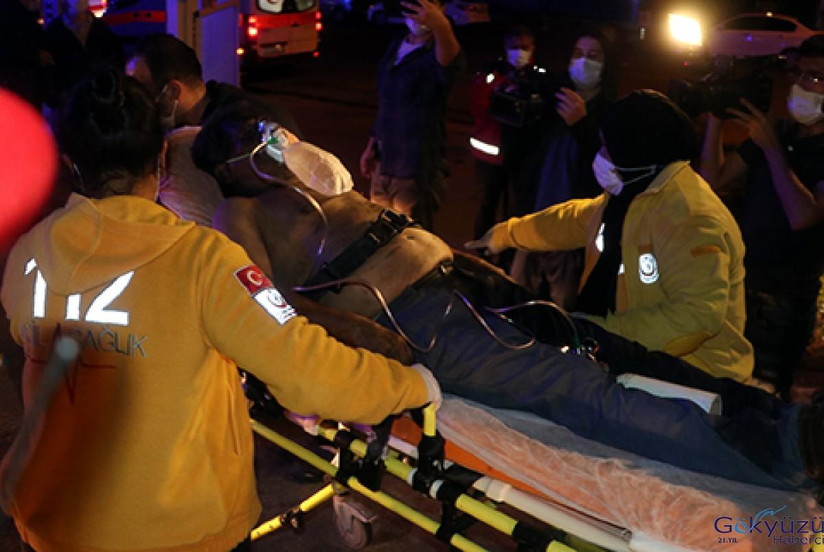 Hastane odasında yangın çıkaran psikiyatri hastası öldü